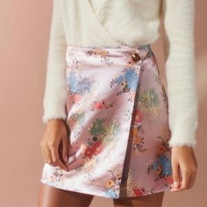 Urban Outfitters Jaquard Mini Skirt NWOT
